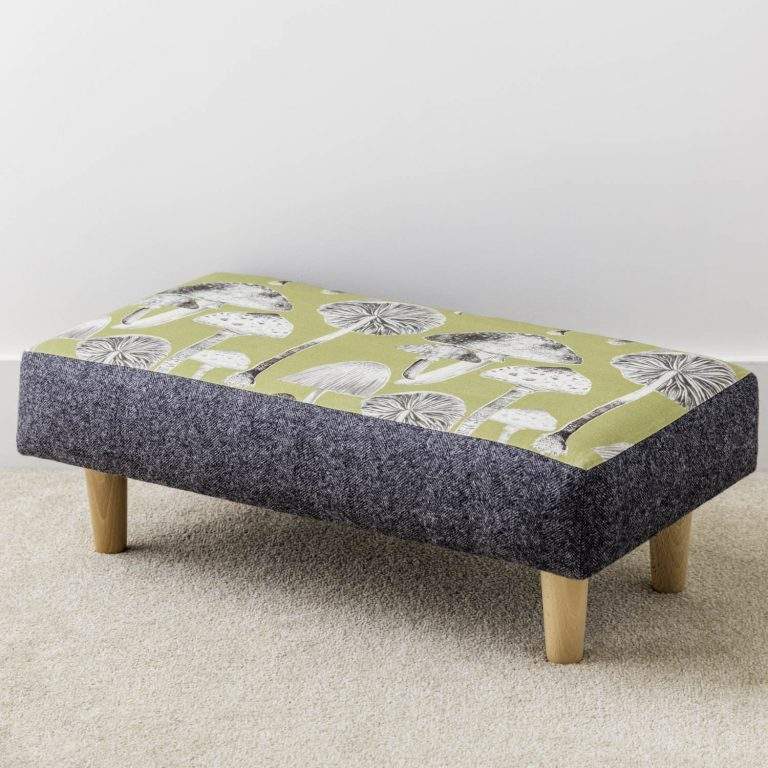 mushroom print footstool - Love Your Lounge
