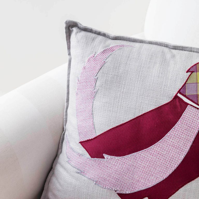 pheasant collage cushion - Love Your Lounge