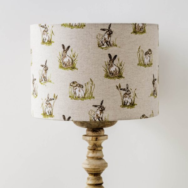 hare / rabbit print lamp shade - Love Your Lounge