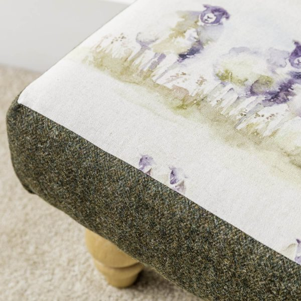 come by voyage material footstool - Love Your Lounge