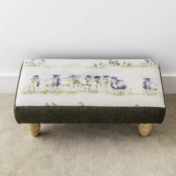 'come by' voyage material footstool - Love Your Lounge