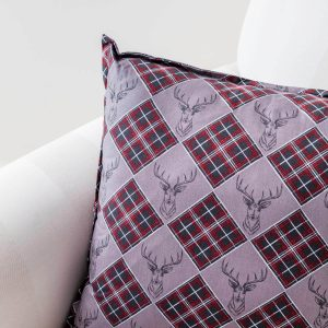 stag print cushion - love your lounge