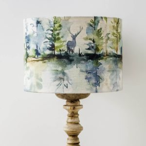 voyage material wilderness print lamp shade - Love Your Lounge