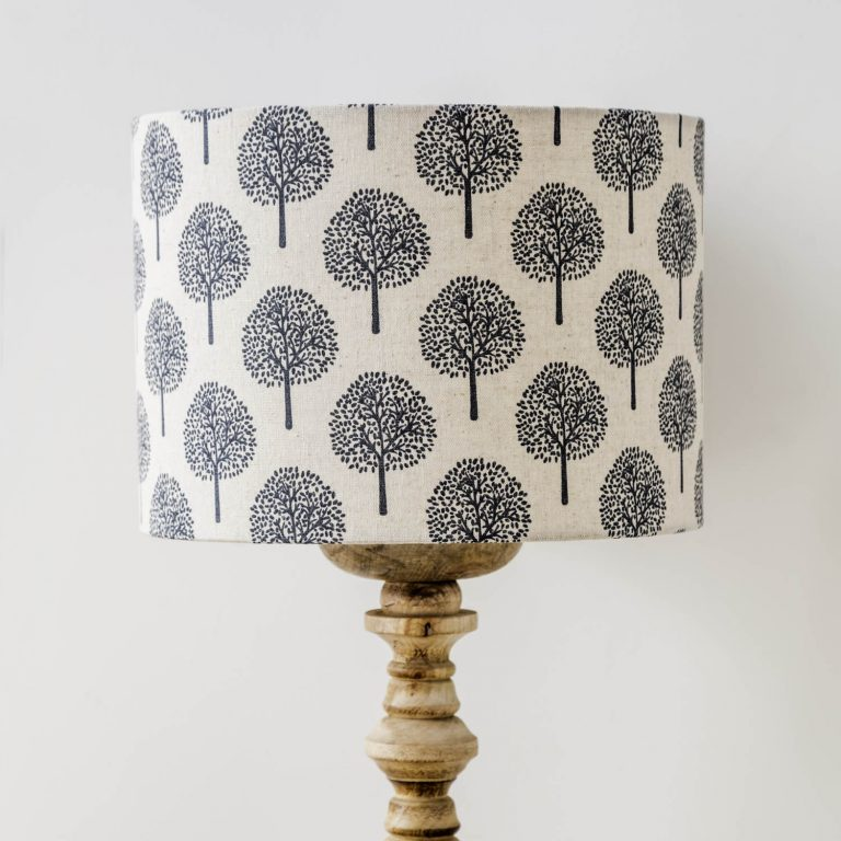 tree print lamp shade - Love Your Lounge